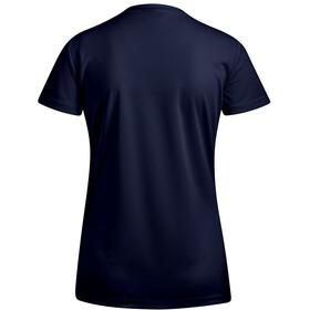Maier Sports Waltraud Camiseta manga corta Mujer, azul